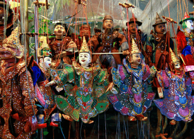 Bábkové divadlo, Mjanmarsko