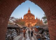 Chrám Htilominlo, Mjanmarsko