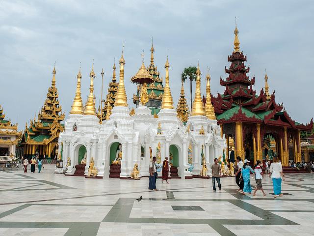 Shwedagon pagoda, Mjanmarsko