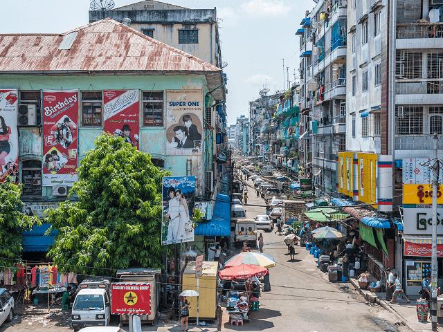 Trhovisko Bogyoke Aung San, Rangún, Mjanmarsko