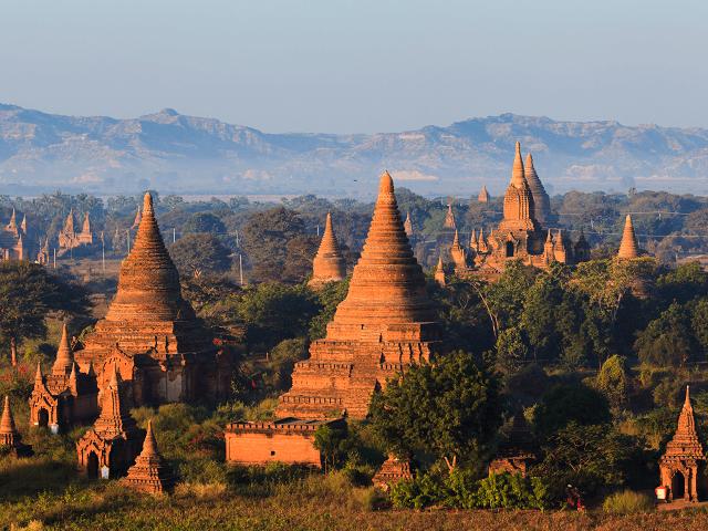 Budhistické chrámy v Bagane, Mjanmarsko
